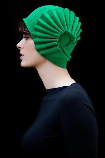 Čiapka, čiapky, čiapočky a ešte lepšie, klobúk ! ! !_Katharine-fashion is beautiful_Zelený klobúk
