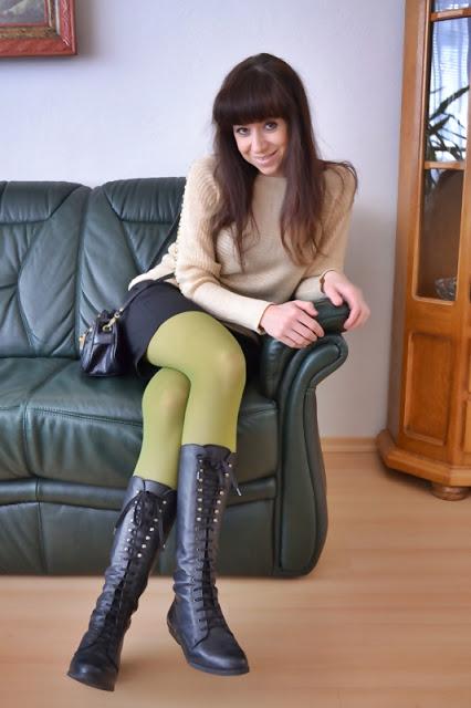 Zlatá horúčka alebo jednoducho, môj nový pulóver :-) Katharine-fashion is beautiful