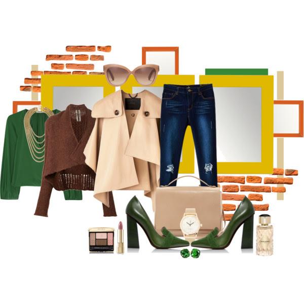 How to wear poncho_Katharine-fashion is beautiful_Pončo_Džínsy_Katarína Jakubčová_Fashion blogger