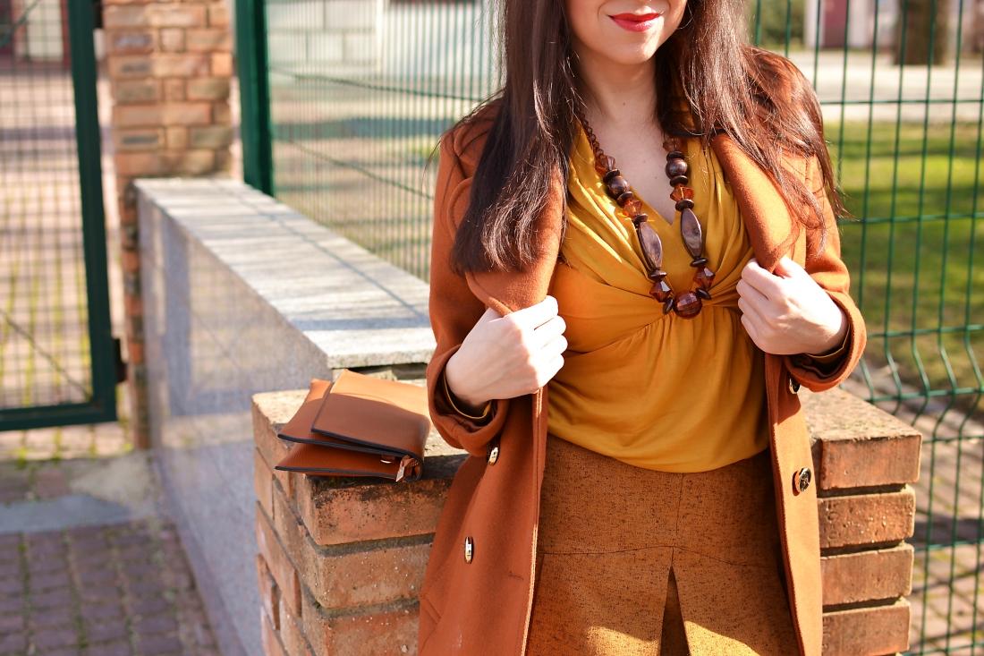 Založené 2014_Katharine-fashion is beautiful_blog 3_Dunajský pivovar_Žlté pančuchy_Hnedý kabát_Koňaková skladaná sukňa_Katarína Jakubčová_Fashion blogger_Outfit