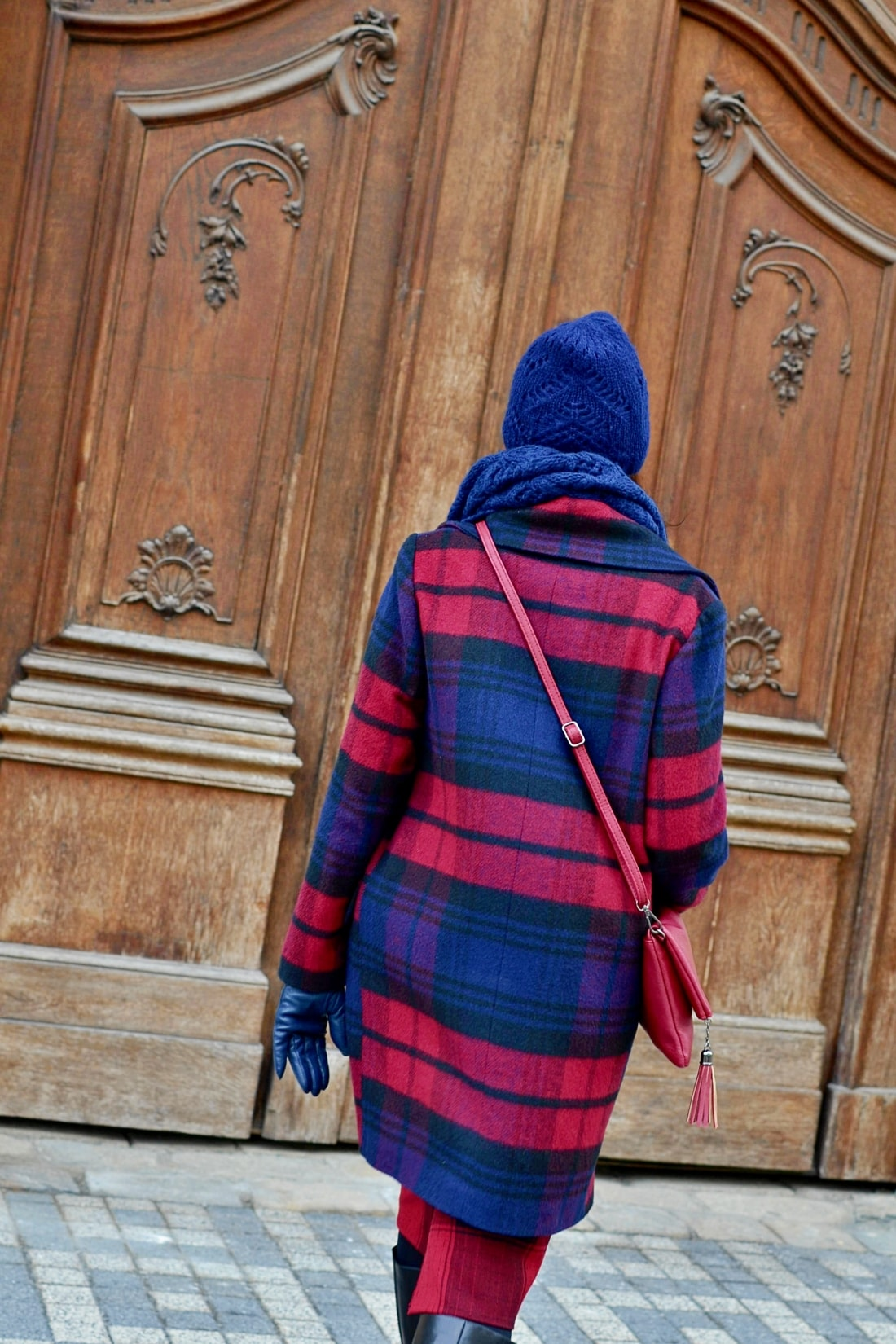 AKO NOSIŤ VZORY_Katharine-fashion is beautiful_Vzorovaný kabát_Katarína Jakubčová_Fashion blogger