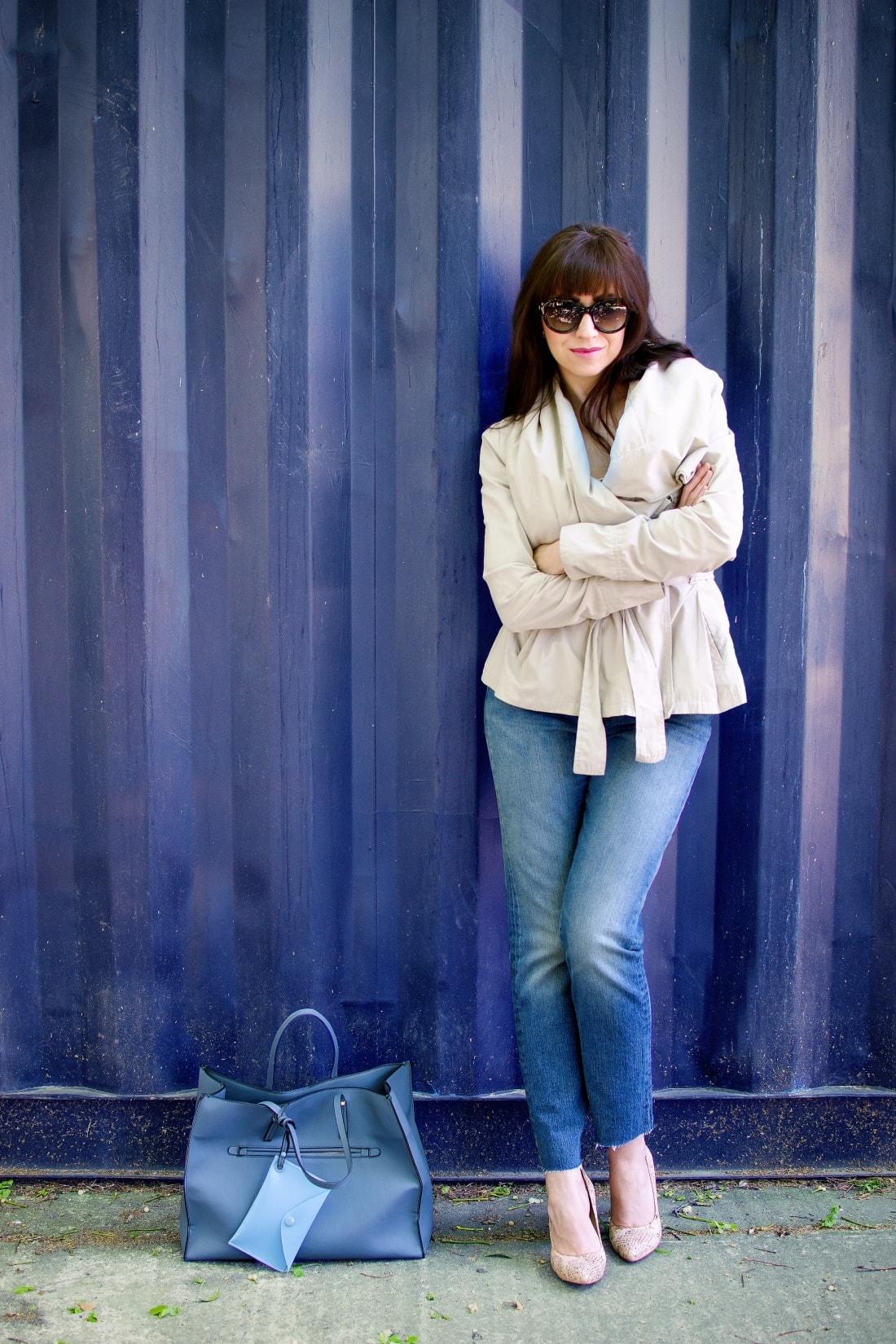 5 rád ako sa nezblázniť z nepadnúcich džínsov_Katharine-fashion is beautiful blog 3_Džínsy Levis_Ružový top_Katarína Jakubčová_Fashion blogger