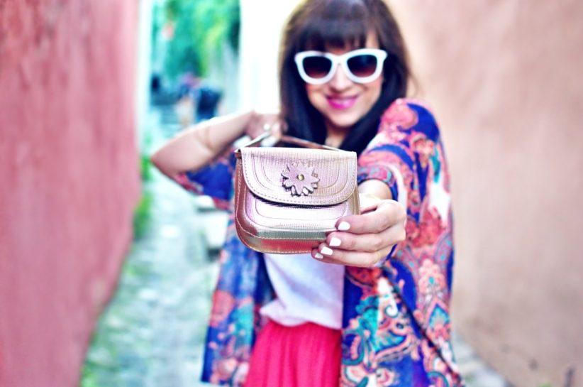 Purse jewel_Katharine fashion is beautiful blog 5_Mini bag_Kimono_Maxi_Handmade_Gold_Katarína Jakubčová_Fashion blogger