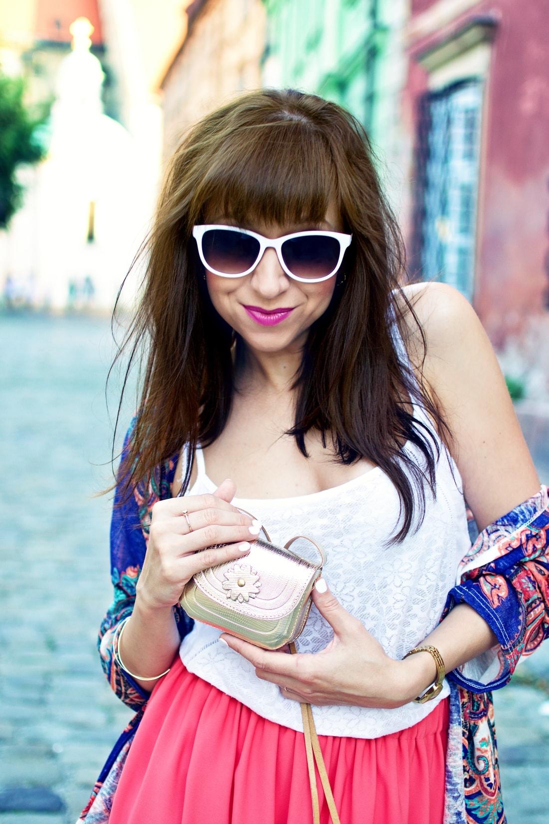 Purse jewel_Katharine fashion is beautiful blog 6_Mini bag_Kimono_Maxi_Handmade_Gold_Katarína Jakubčová_Fashion blogger