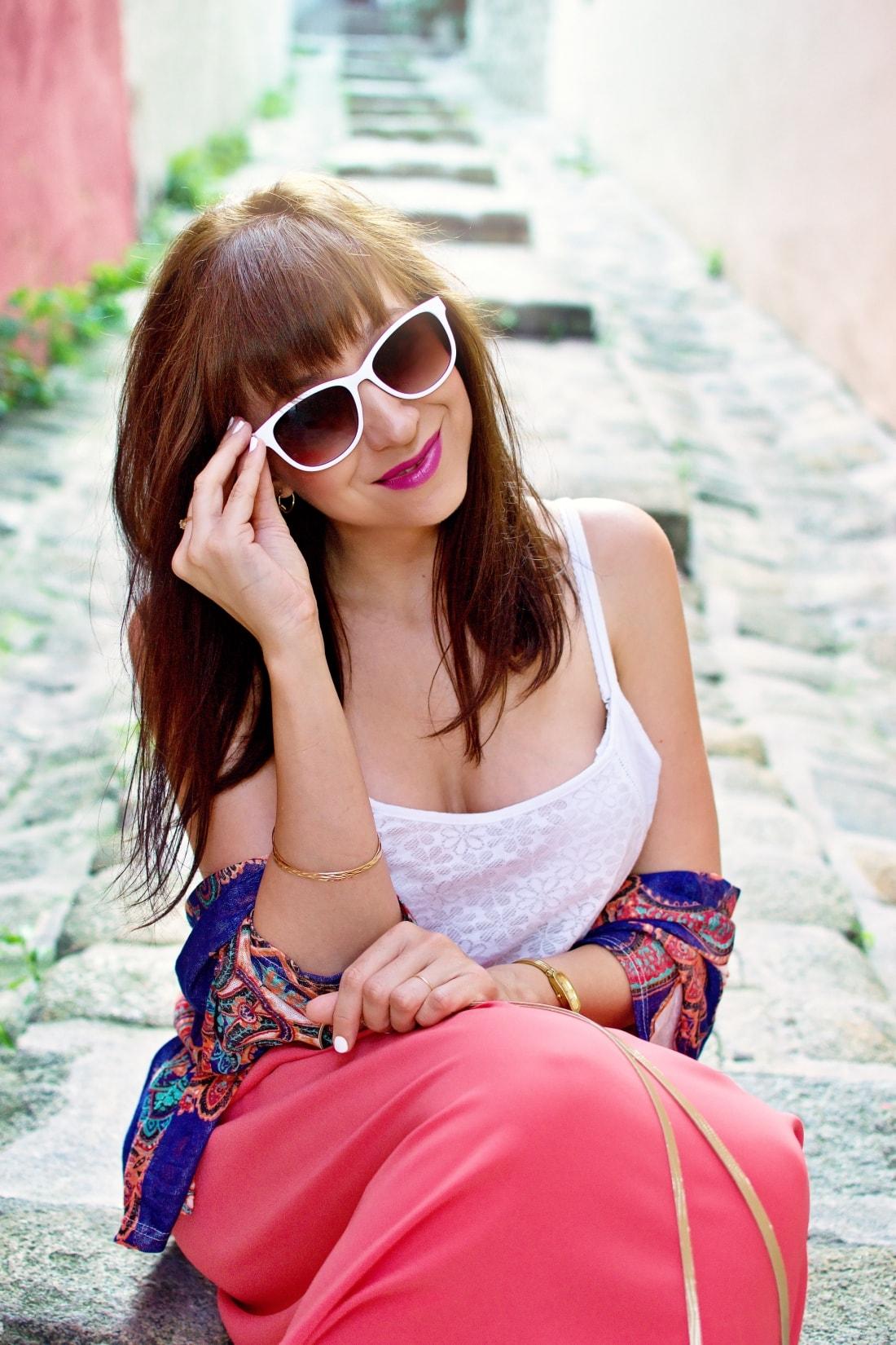 Purse jewel_Katharine fashion is beautiful blog 7_Mini bag_Kimono_Maxi_Handmade_Gold_Katarína Jakubčová_Fashion blogger