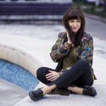 Bomberka s potlačou_Katharine-fashion is beautiful_blog 2_Čierne džínsy_Slipony_Bonprix_Katarína Jakubčová_Fashion blogger