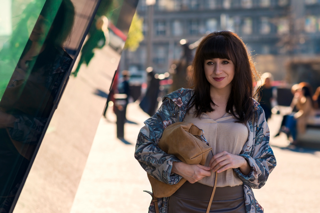 Parka s potlačou_Katharine-fashion is beautiful_Blog 3_Parka Bonprix_Listová potlač_Katarína Jakubčová_Fashion blogger
