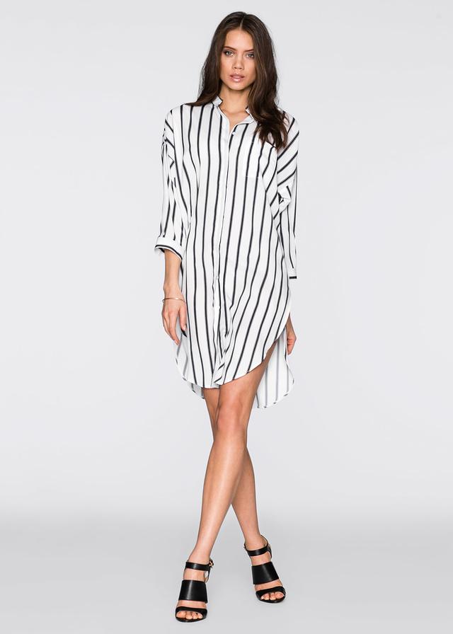 IDEÁLNE ŠATY NA JAR_Katharine-fashion is beautiful_Blog 12_Šaty Bonprix_Košeľové šaty na jar_Dlhá blúzka_Katarína Jakubčová_Fashion blogger