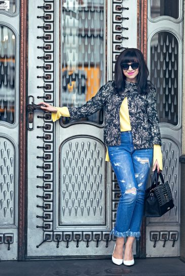 Podľa čoho spoznáte nákupnú maniačku_Katharine-fashion is beautiful_Blog 5_Tuliphousehotel_Džínsy Zara_Biele lodičky Kati_Okuliare Misteroptic_Katarína Jakubčová_Fashion blogger