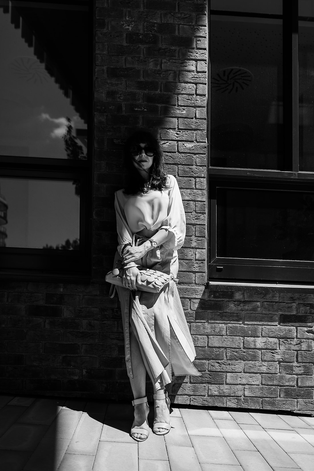 1 zo spôsobov nosenia maxi popelínovej sukne_Katharine-fashion is beautiful_blog11_Maxi sukňa_Žltá blúzka_Bratislava_Katarína Jakubčová_Fashion blogger