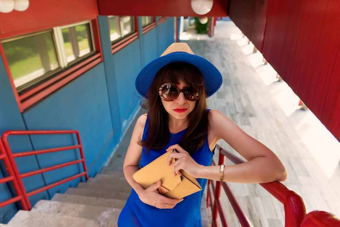 INŠPIRÁCIA NA JAR/LETO 2018 ALEBO AKO NOSIŤ KLOBÚK_Katharine-fashion is beautiful_Blog 1_Slamený klobúk Parfois_Slamená listová kabelka_OOTD_Katarína Jakubčová_Fashion blogger