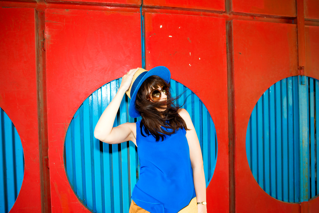 INŠPIRÁCIA NA JAR/LETO 2018 ALEBO AKO NOSIŤ KLOBÚK_Katharine-fashion is beautiful_Blog 6_Slamený klobúk Parfois_Slamená listová kabelka_OOTD_Katarína Jakubčová_Fashion blogger