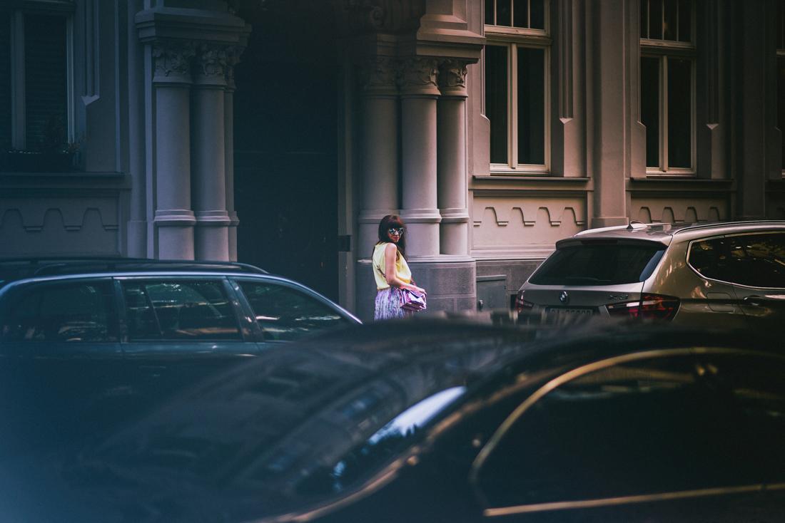 SUKŇA, KTORÁ VÁM VYRAZÍ DYCH_Katharine-fashion is beautiful_blog 2_Kvetinová plisovaná sukňa_Pastelové farby_Kabelka od Answear_Katarína Jakubčová_Fashion blogerka