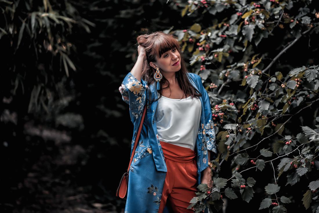 NOVÝ BYT, NOVÉ MOŽNOSTI_Katharine-fashion is beautiful_blog 10_Náušnice Bazu_Kvetinové kimono ZARA_Katarína Jakubčová_fashion blogerka