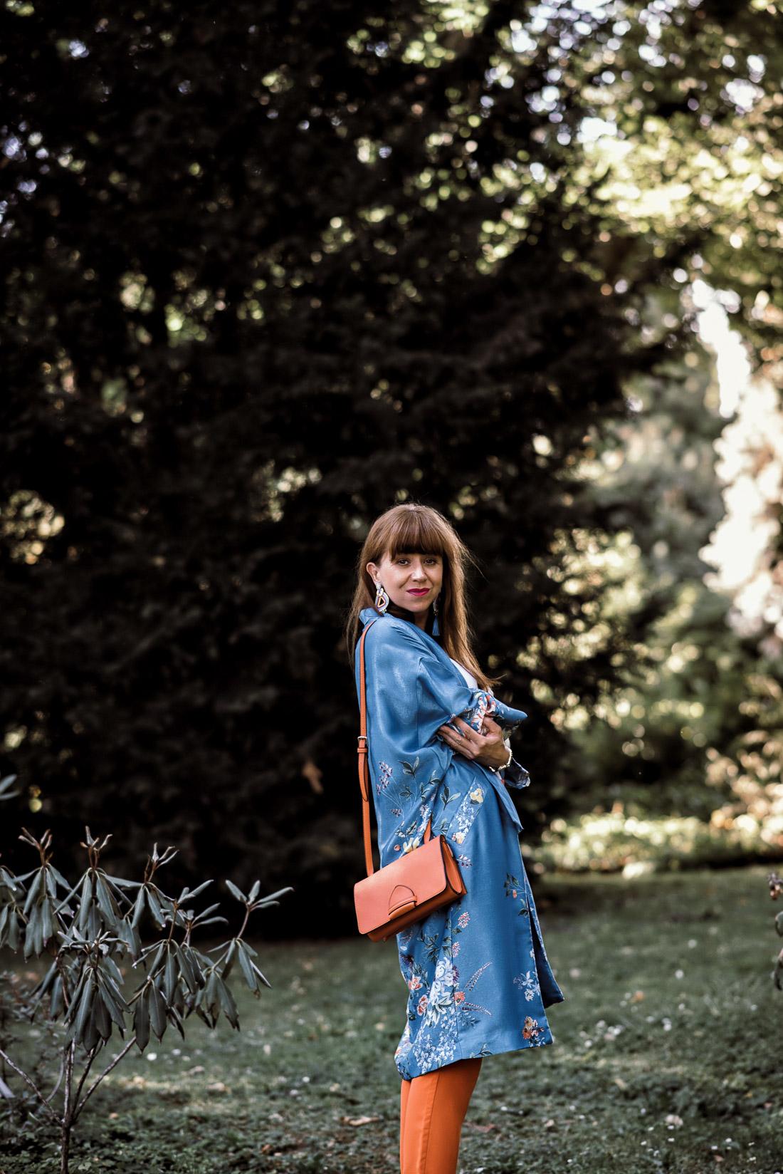 NOVÝ BYT, NOVÉ MOŽNOSTI_Katharine-fashion is beautiful_blog 13_Náušnice Bazu_Kvetinové kimono ZARA_Katarína Jakubčová_fashion blogerka