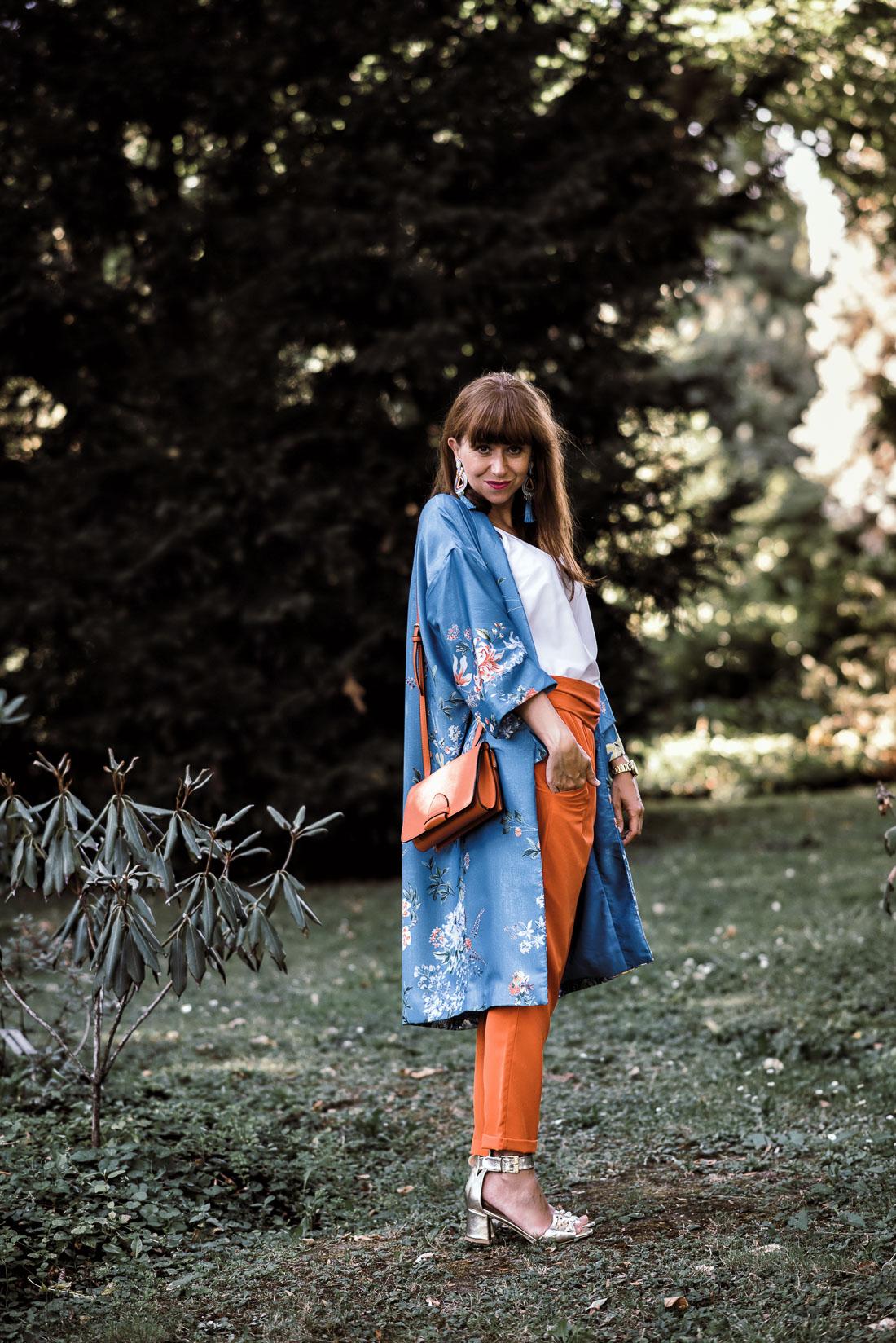 NOVÝ BYT, NOVÉ MOŽNOSTI_Katharine-fashion is beautiful_blog 14_Náušnice Bazu_Kvetinové kimono ZARA_Katarína Jakubčová_fashion blogerka