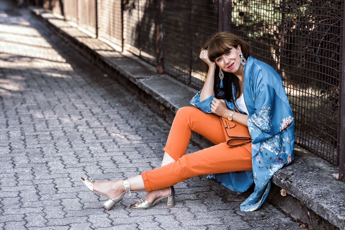 NOVÝ BYT, NOVÉ MOŽNOSTI_Katharine-fashion is beautiful_blog 16_Náušnice Bazu_Kvetinové kimono ZARA_Katarína Jakubčová_fashion blogerka