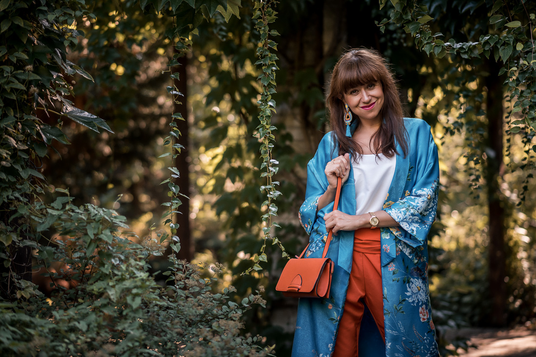 NOVÝ BYT, NOVÉ MOŽNOSTI_Katharine-fashion is beautiful_blog 4_Náušnice Bazu_Kvetinové kimono ZARA_Katarína Jakubčová_fashion blogerka