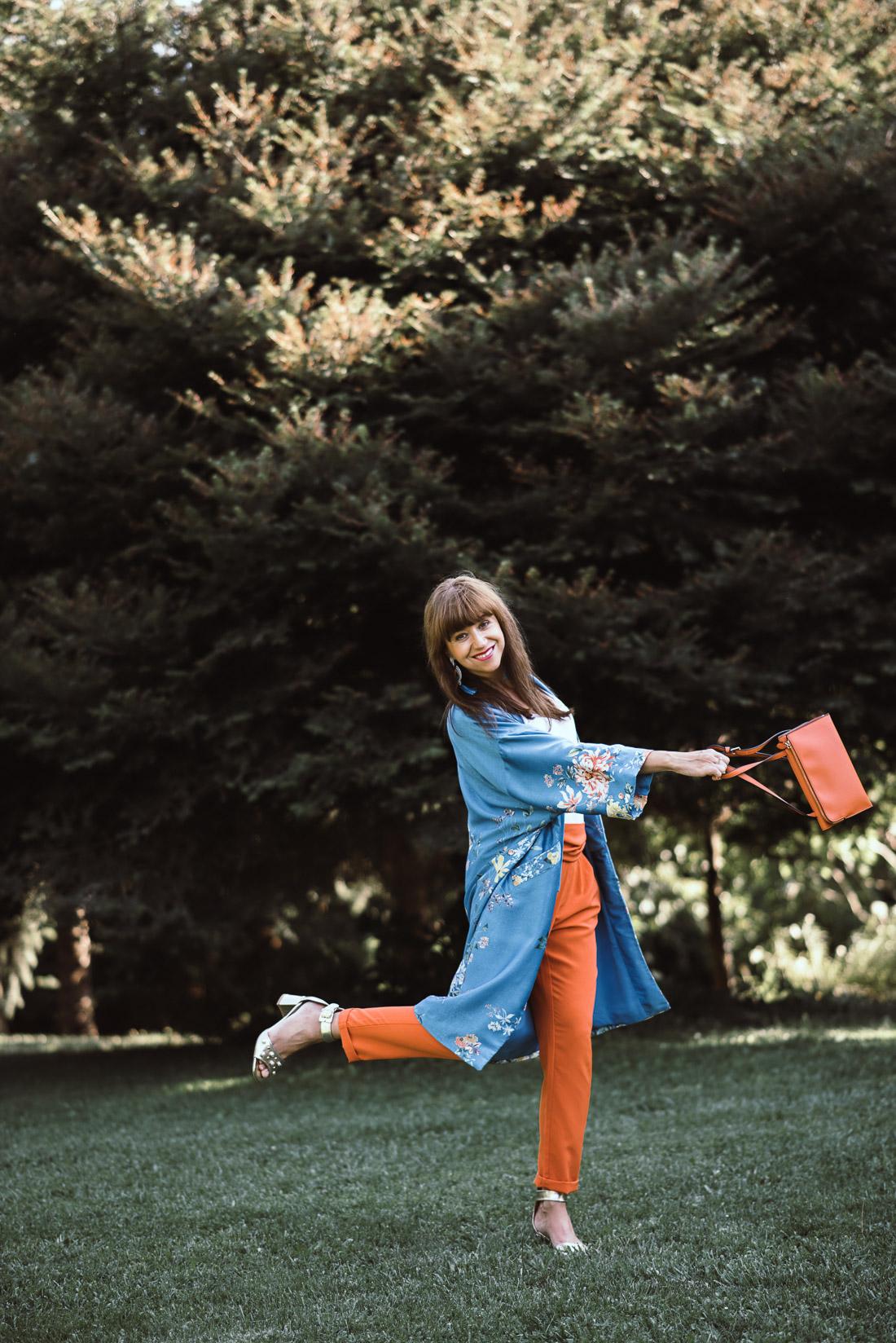 NOVÝ BYT, NOVÉ MOŽNOSTI_Katharine-fashion is beautiful_blog 6_Náušnice Bazu_Kvetinové kimono ZARA_Katarína Jakubčová_fashion blogerka